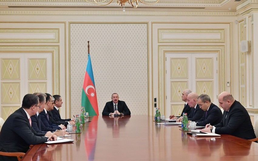 """Azərbaycan Prezidenti: """"2019-cu ilin sonrakı aylarında da çox ciddi islahatlar aparılacaq"""""""