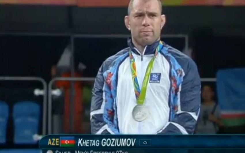 Xetaq Qazyumov Rio Olimpiadasını gümüş medalla başa vurub - YENİLƏNİB