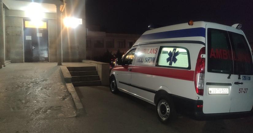 Qaradağda 39 yaşlı kişini avtomobil vurdu
