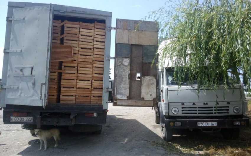 Azerbaijani products checked in Russian customs pose serious problems - PHOTO