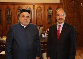 Allahshukur Pashazadeh receives Turkish Ambassador to Azerbaijan