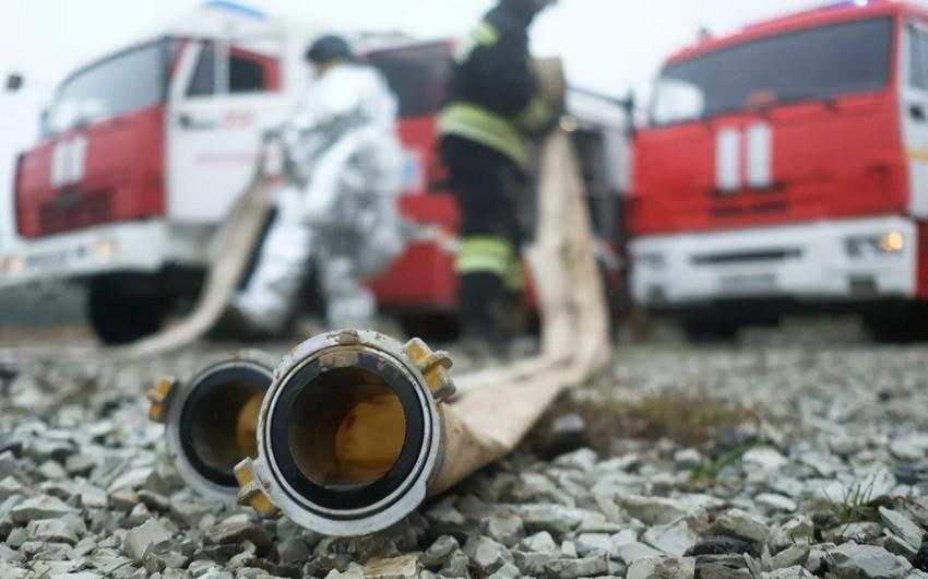 Rusiyada dörd nəfər yanaraq ölüb