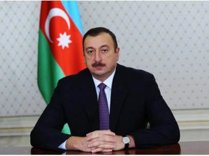 Azərbaycan prezidenti İSESCO-nun baş direktorunu qəbul edib