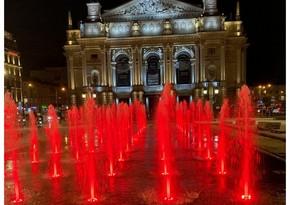 SOCAR Ukraynanın Lvov şəhərinin sakinlərinə fontan hədiyyə edib
