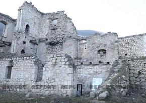 Ermənilərin Tuğ kəndindəki dağıtdıqları qədim bəy evləri - VİDEOREPORTAJ