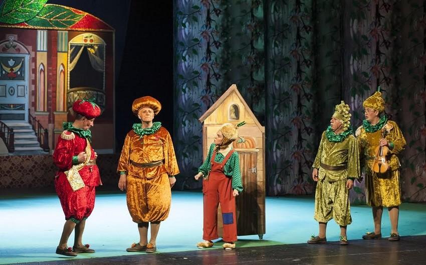 """Akademik Milli Dram Teatrında """"Çipollino"""" tamaşası nümayiş olunacaq"""