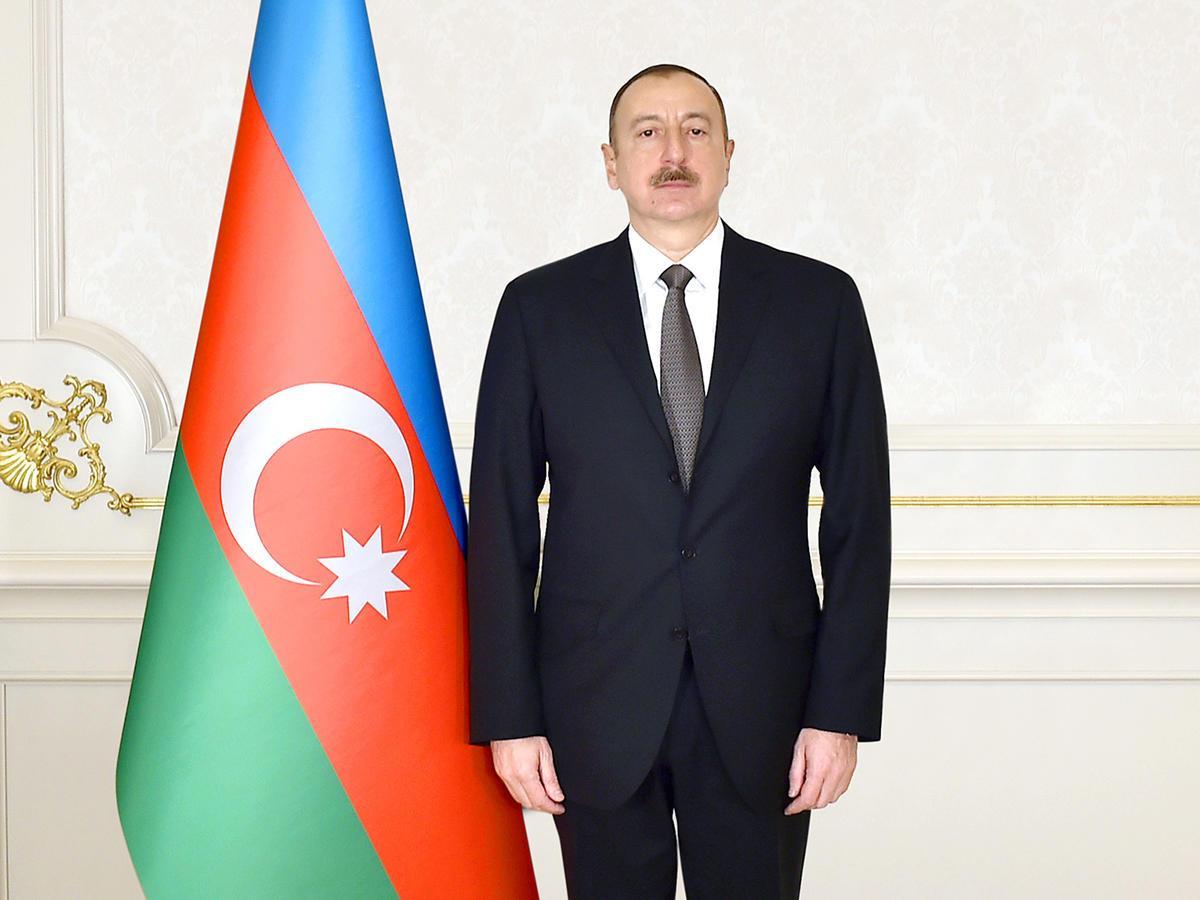 Ильхам Алиев направил письмо президенту Литвы