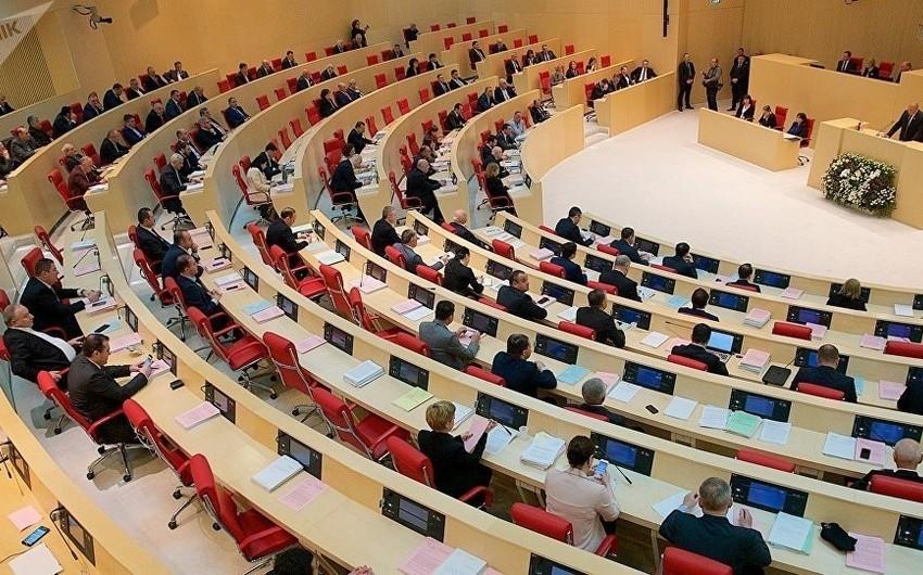 Парламентская оппозиция Грузии объявила политический бойкот