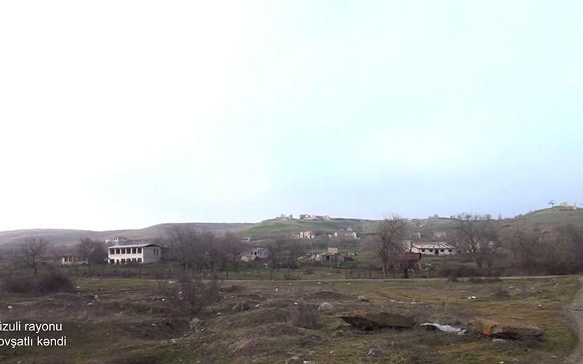 Video footage from liberated Govshatli village of Fuzuli region