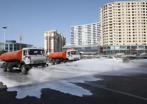 Mass disinfection to be conducted on Baku streets