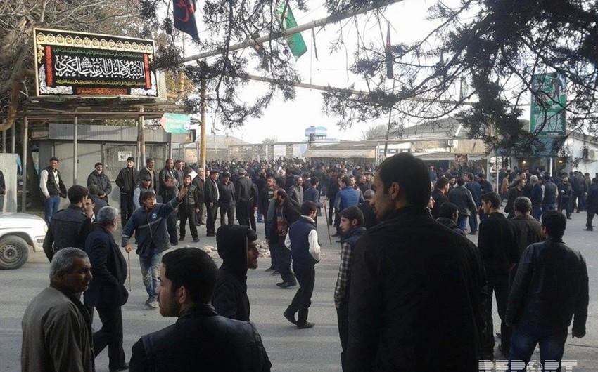 Верующие южного региона Азербайджана распространили заявление в связи с событиями в Нардаране