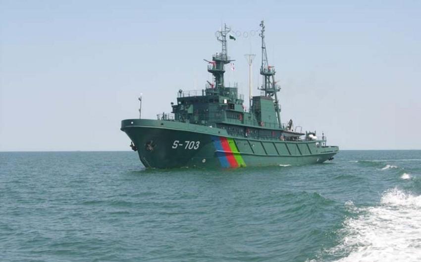 Azərbaycan hərbçiləri Dağıstanda beynəlxalq hərbi-dəniz müsabiqəsində iştirak edirlər