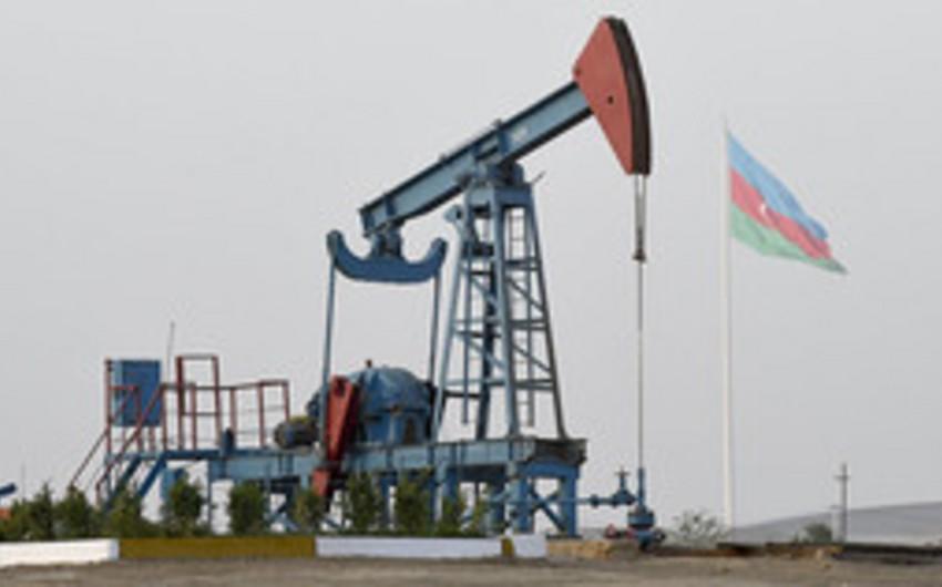 Azerbaijani oil price declines