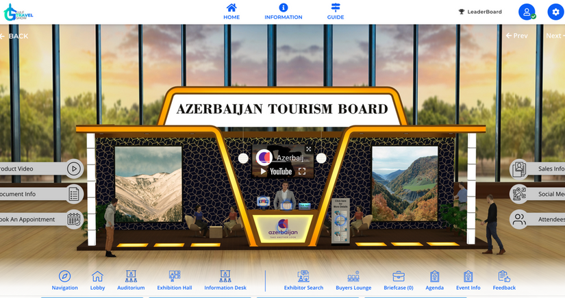 Karabakh and tourism opportunities presented at international exhibition