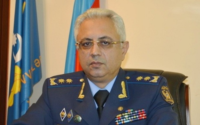 Commander of  Azerbaijan Air Force visiting Pakistan