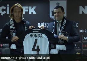 Neftçi Honda ilə müqavilə imzaladı - RƏSMİ