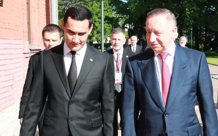 Сердар Бердымухамедов и Александр Беглов обсудили вопросы сотрудничества Туркменистана и Санкт‑Петербурга