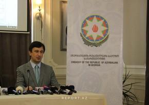 Səfirlik: AzərbaycanGürcüstanla regional layihələrin təhlükəsizliyini təmin etməyə çalışır