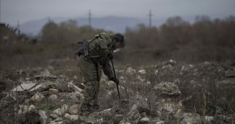 Армения потратила на минирование Карабаха 50% военного бюджета