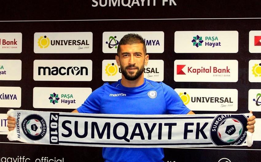 Sumqayıt klubu daha bir transfer edib