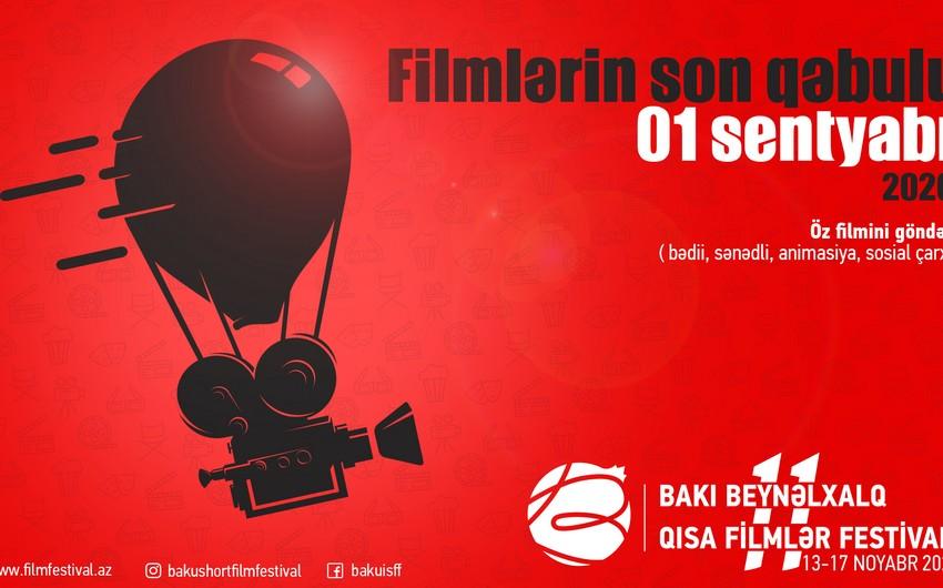 XI Bakı Beynəlxalq Qısa Filmlər Festivalına film qəbulu başladı