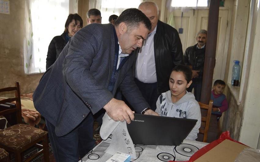 Gürcüstanda mer əlil azərbaycanlı gəncin arzusunu yerinə yetirib