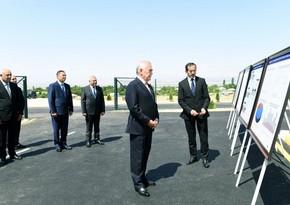 Azərbaycanda yeni Günəş Elektrik Stansiyası istifadəyə verildi