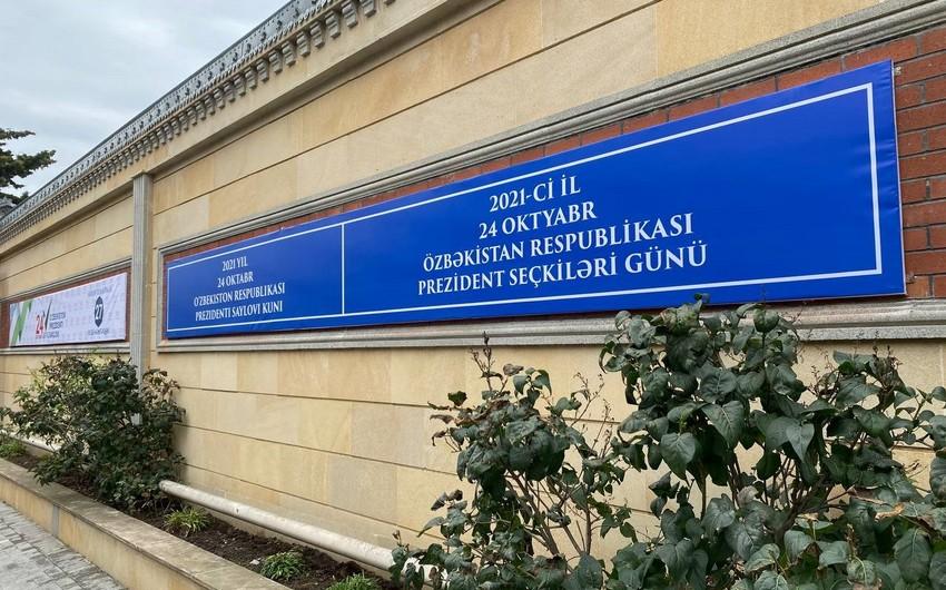 Özbəkistanın Bakıdakı səfirliyində seçki məntəqəsi yaradılıb