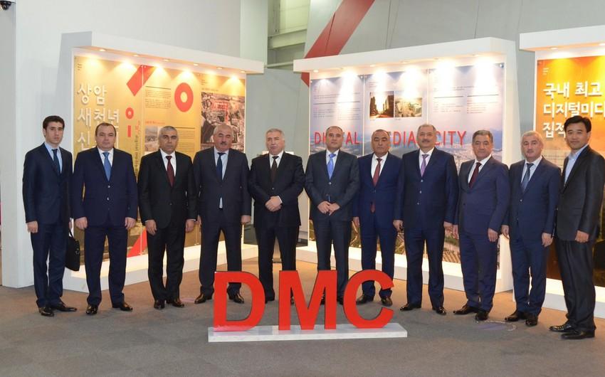 Главы ИВ десяти районов Азербайджана посетили Южную Корею