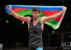 Чемпионат Европы: Санан Сулейманов одолел армянского спортсмена