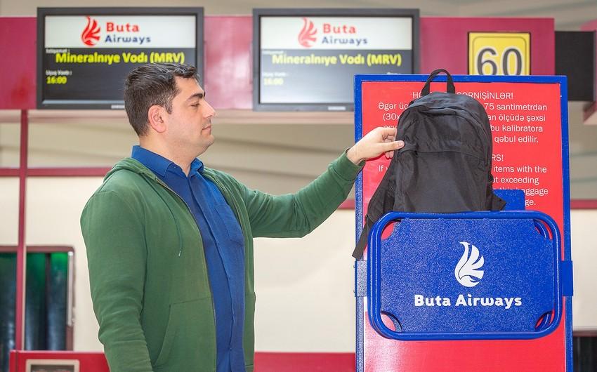 """""""Buta Airways"""" əl yükünün daşınması qaydalarını dəyişdi"""