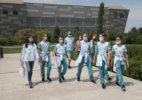 Azərbaycan gimnastları Tokio olimpiadasına yollanır