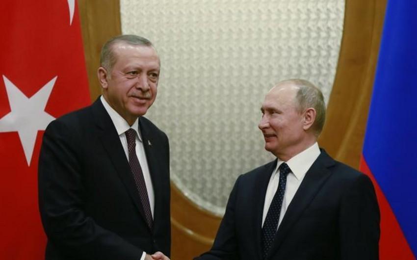 """Vladimir Putin: """"Türkiyə ilə birlikdə Suriyada əhəmiyyətli yol qət etmişik"""""""