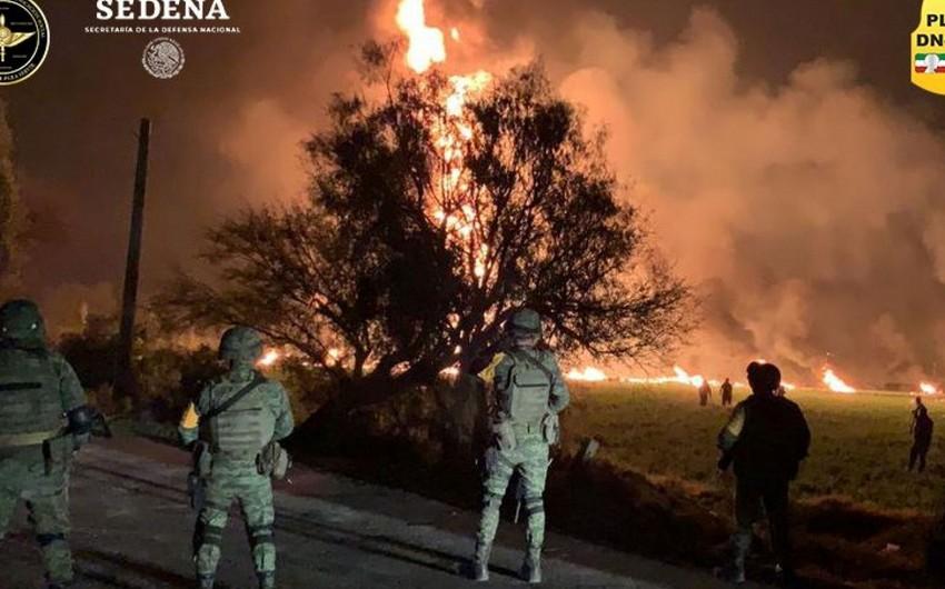 Meksikada partlayış nəticəsində ölənlərin sayı 135-ə çatıb
