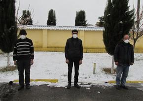 Задержаны лица, пытавшиеся проникнуть на освобожденные территории