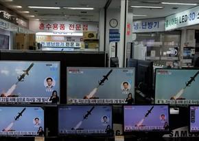 Yaponiya və Cənubi Koreya KXDR-in raket sınağını xəbər verib
