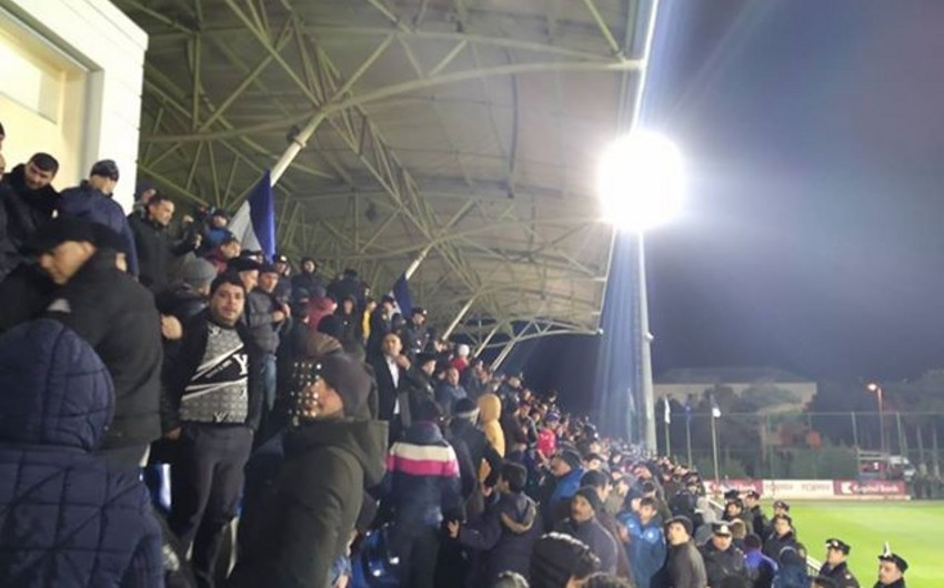 На матче кубка Азербайджана произошел инцидент