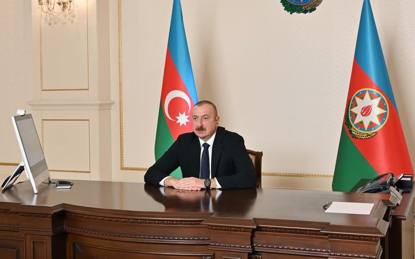 Президент Ильхам Алиев обратился к гражданам Азербайджана