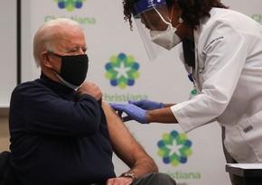 Байдену публично сделали бустерную прививку от коронавируса