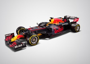 Formula 1: Red Bull yeni bolidini təqdim etdi