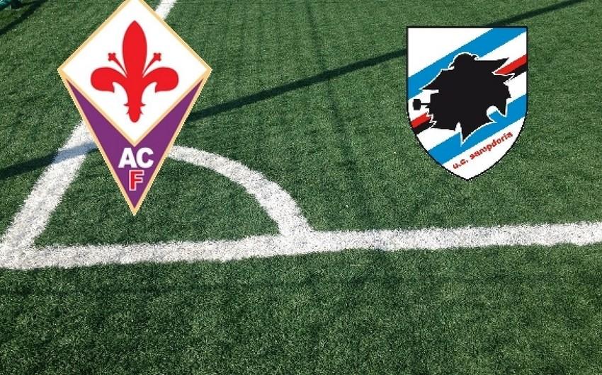 Fiorentina və Sampdoriyanın daha 3 futbolçusunda koronavirus aşkarlandı