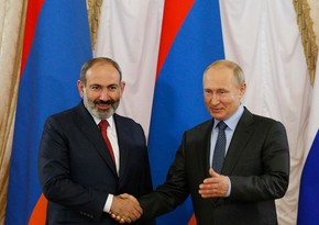 Путин и Пашинян обсудили реализацию заявлений по Карабаху
