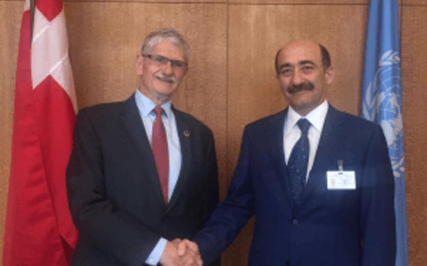 Azərbaycanın mədəniyyət və turizm naziri BMT Baş Assambleyasının prezidenti ilə görüşüb