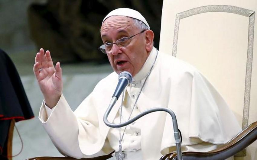 Roma Papası Ermənistana məktubunda soyqırım ifadəsi işlətməyib