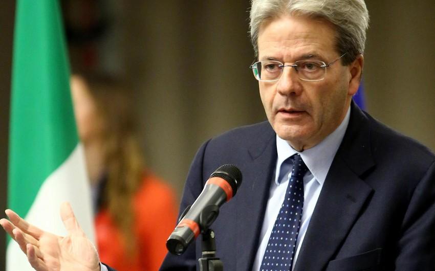 Paolo Centiloni İtaliyanın yeni baş naziri təyin olunub