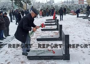 20 Yanvar şəhidlərinin xatirəsi Qubada anılıb