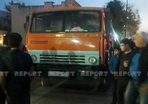 В Кюрдамире КамАЗ сбил 77-летнюю женщину