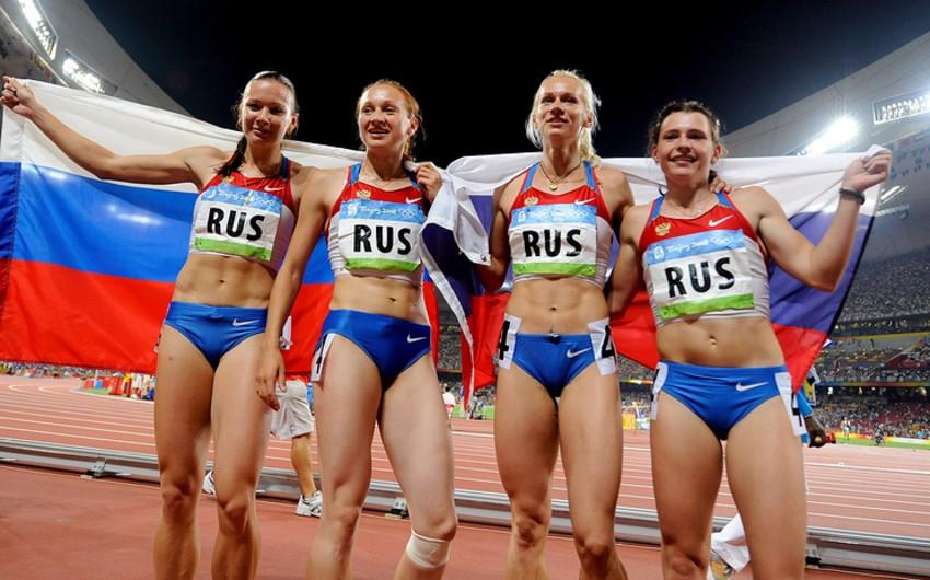 Rusiyanın yüngül atletika yığması Pekin Olimpiadasının qızıl medalından məhrum edilib