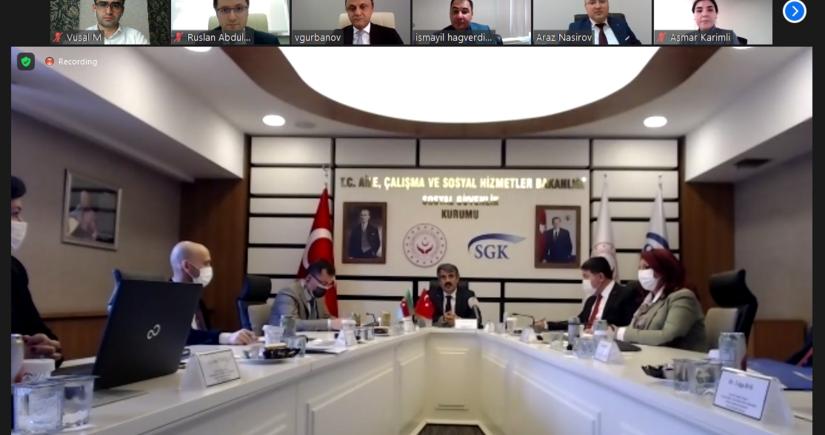 Azərbaycan-Türkiyə arasında icbari tibbi sığorta sahəsində əməkdaşlıq imkanları müzakirə olunub