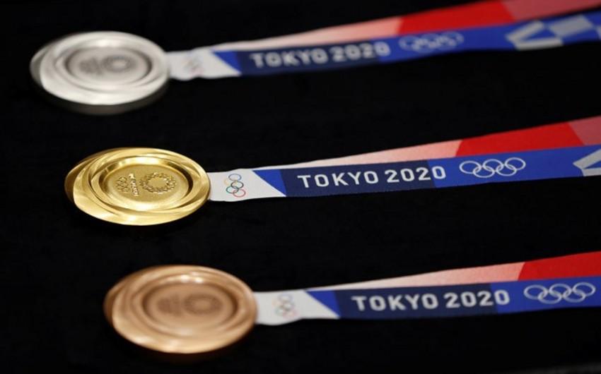 Tokio 2020 Yay Olimpiya Oyunlarının medalları təkrar emal edilmiş cihazlardan hazırlanıb - VİDEO
